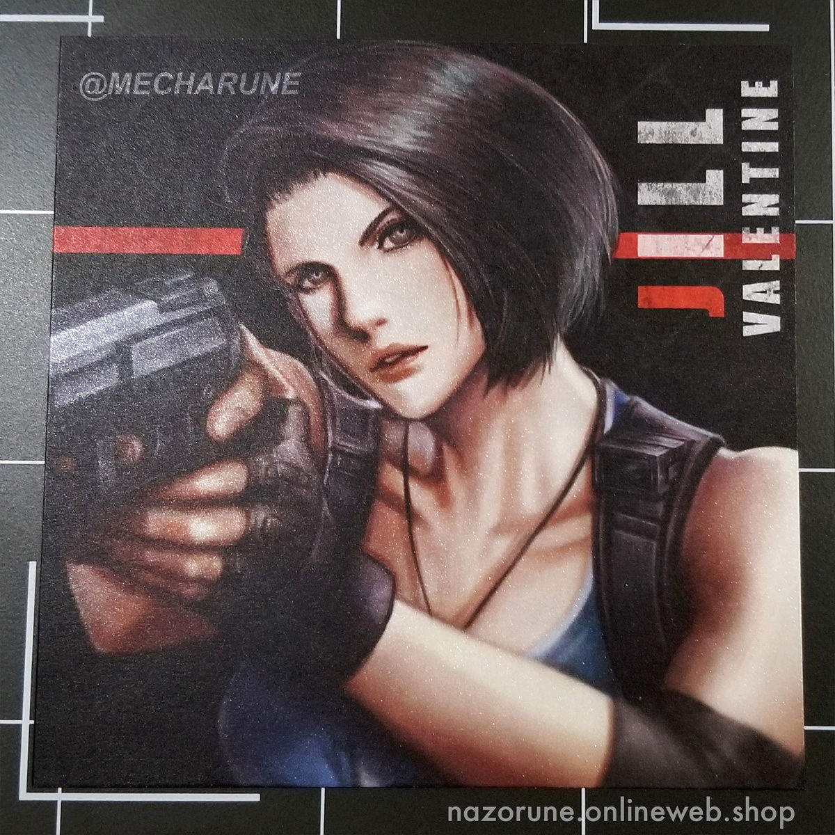 Resident Evil PRINT - Jill Valentine