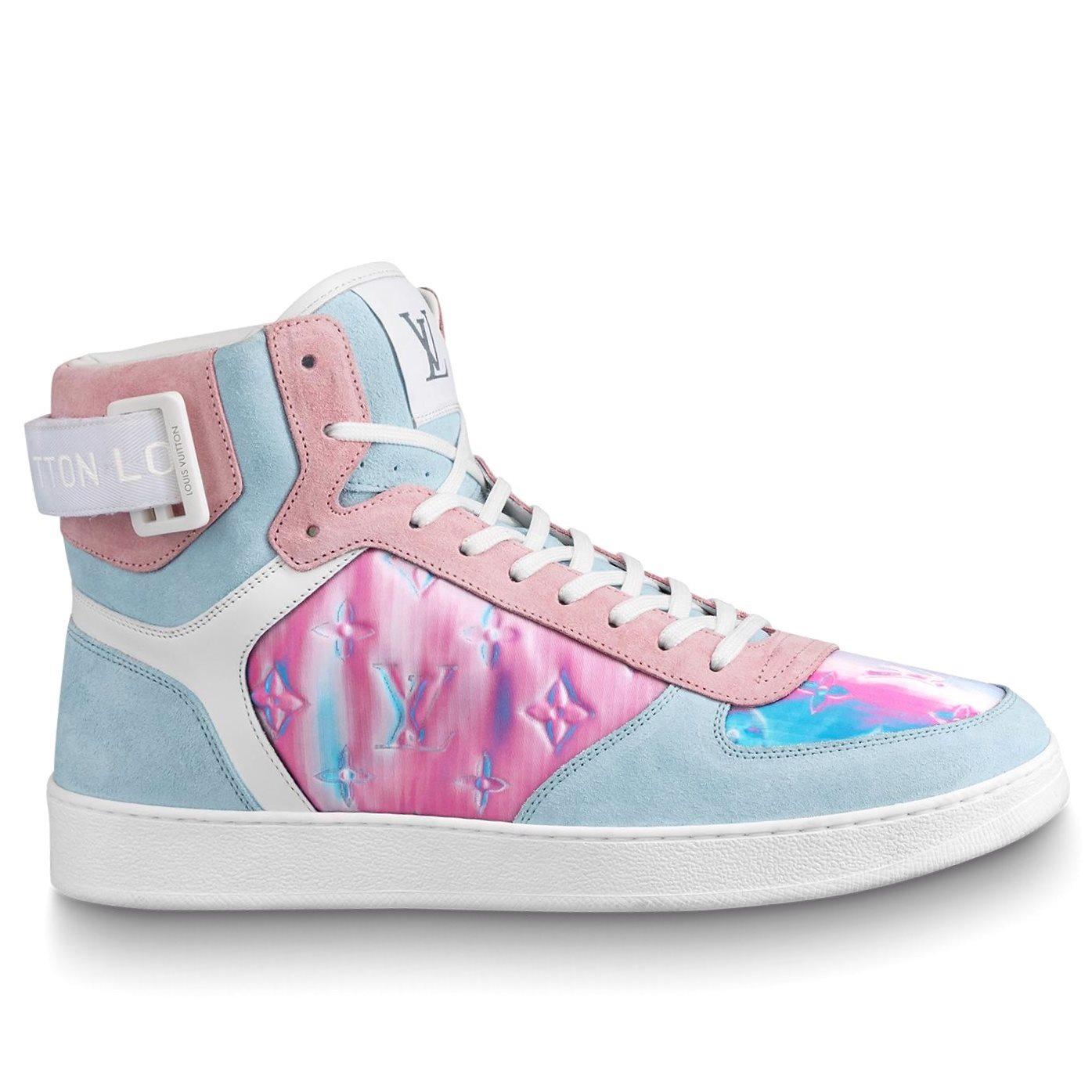 Louis Vuitton iridescent rivoli sneaker