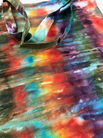 Cotton tote bag - multicoloured