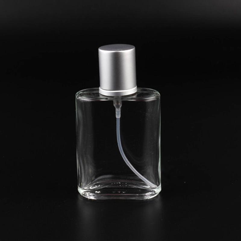 Clear Glass Spray Bottle Pump Atomizer