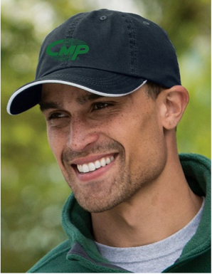 Baseball Cap Embroidered with River Logo