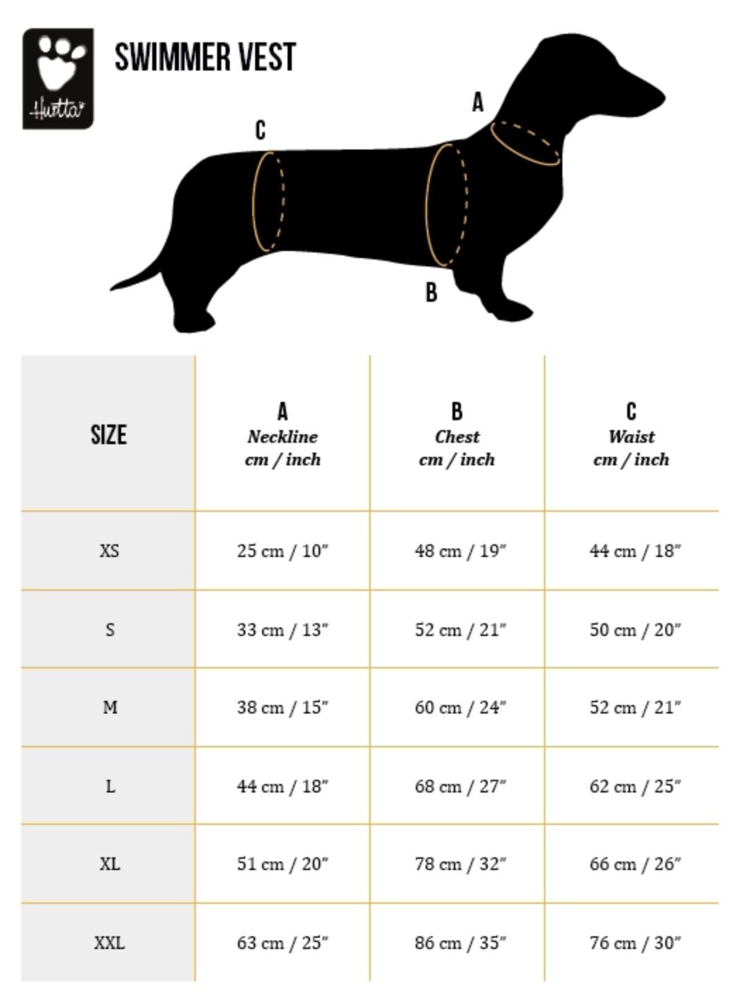Hurtta Swimmer Dog Vest RETAIL $92