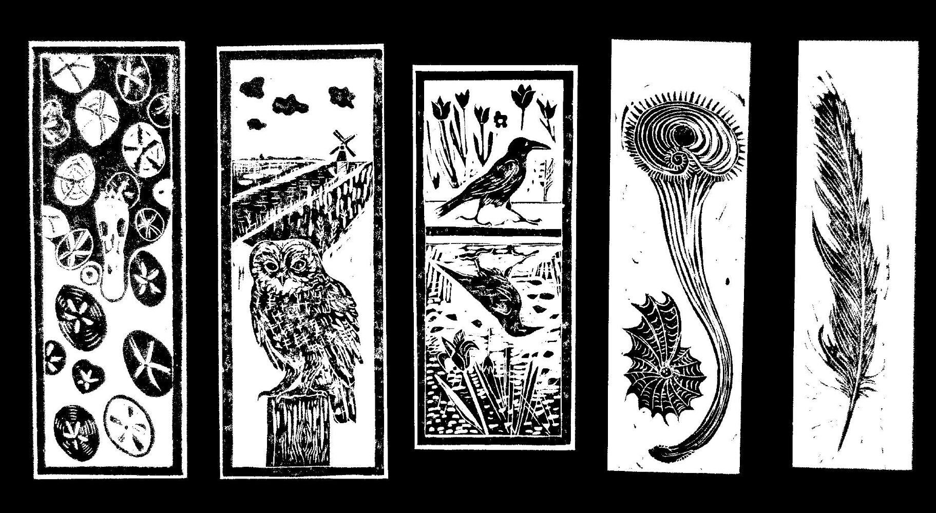 Hookland bookmarks