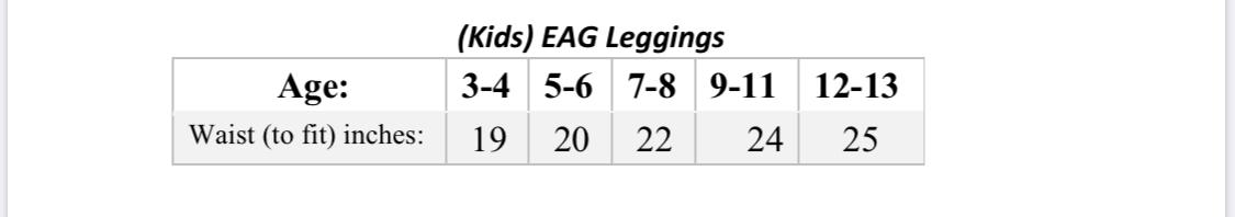 EAG Leggings