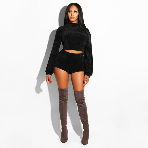 Roc-it-coz-its-hot Long Sleeve Two Piece Outfit