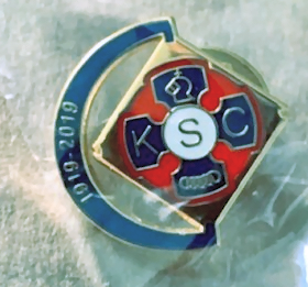 KSC Gift - Centenary Lapel Pin