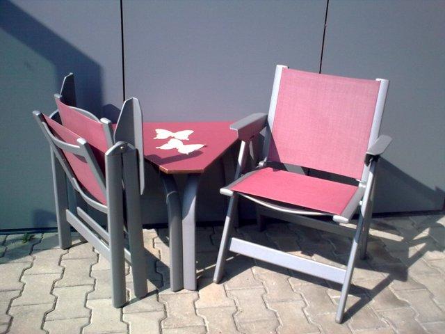 Stol SKY - bordo