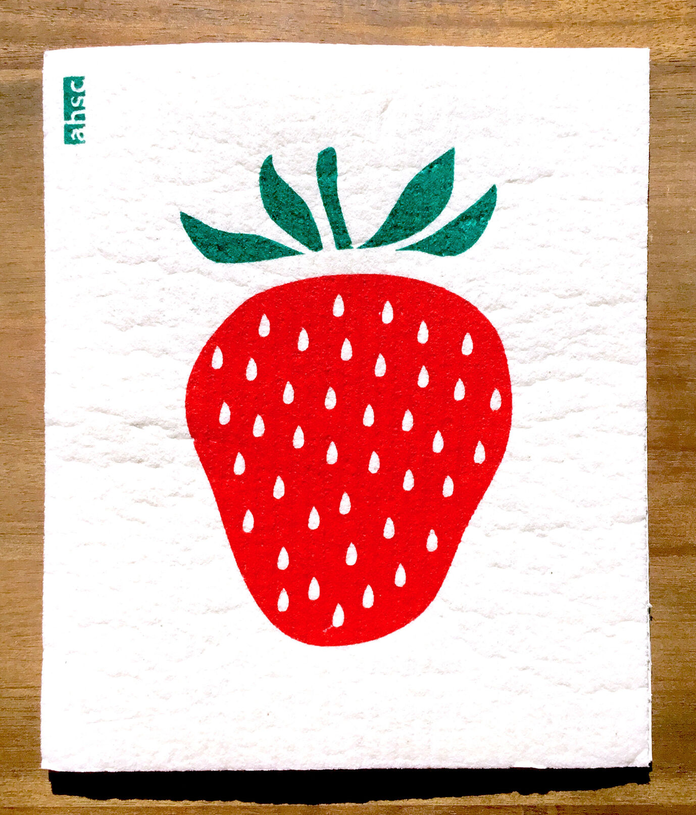 Strawberry Eco Dishcloth