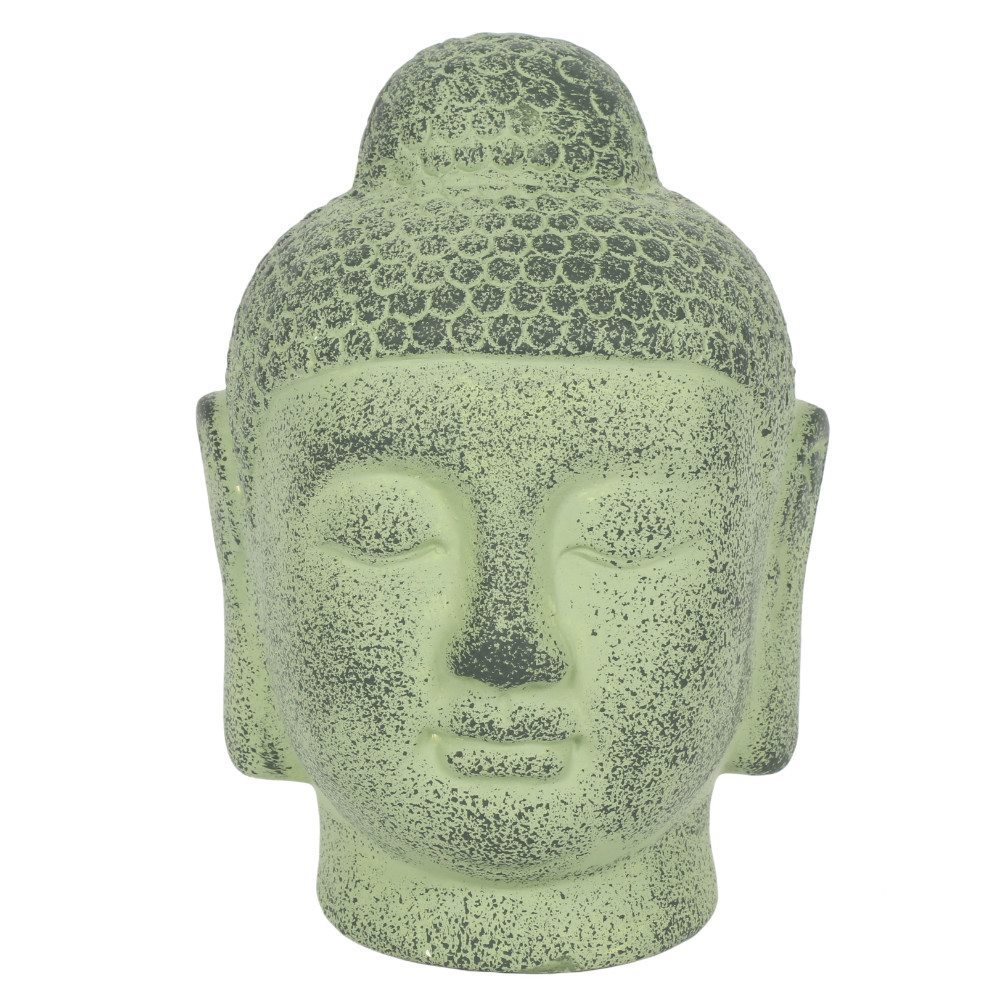 Green Terracotta Buddha Head Ornament