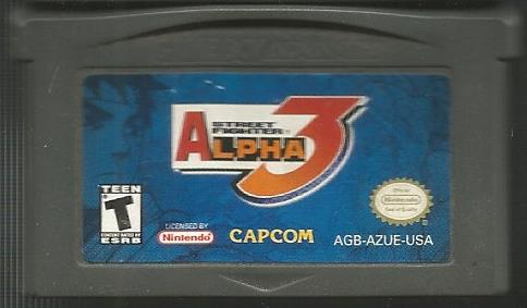 Street Fighter Alpha 3 Used Gameboy Advance