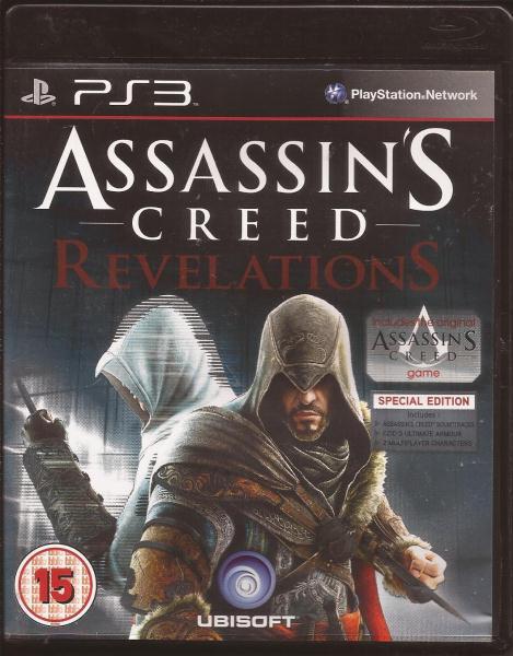 Assassins Creed Revelations Used Playstation 3