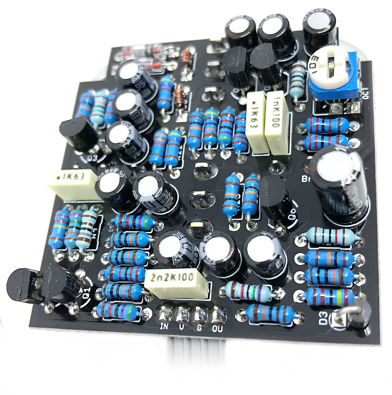 Boost But Adds Overdrive And Fuzz Together With Bazz Fuzz Schematic