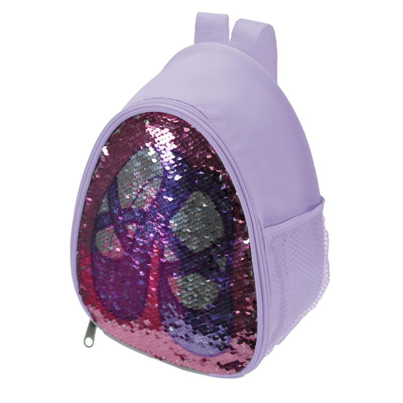 Capezio B222C Lavender Reversible Glitter Backpack