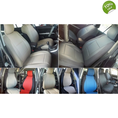 Seat Covers For Trucks >> Select Pickup Truck Model For Two Front Leatherette Car Seat Covers