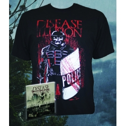 After the Storm CD + Red Wine T-shirt bundle
