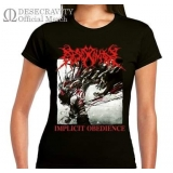 Girls Implicit Obedience T-Shirts