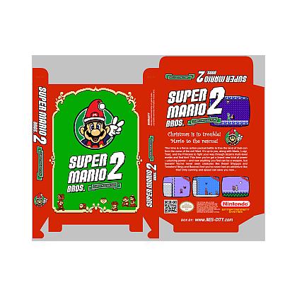 Christmas Mario Png.Super Mario Bros 2 Christmas Edition