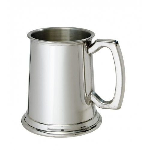 Pewter & Steel Tankards