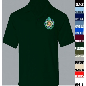 Argyll and Sutherland Highlanders Personalised Polo Shirt