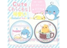 ORIGINAL Happy Chickens [Pack 2 badges]