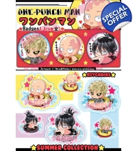 ONE PUNCH MAN - Badges/Keychains