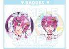 Original - Kat [Pack 2 badges]
