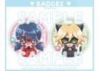 Lady Bug [Pack 2 badges]