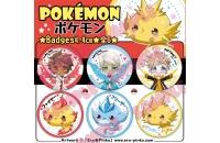 [POKEMON] Pack 6 badges..