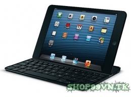 Bàn phím cho Ipad Mini: Logitech Ultrathin Keyboard - Bàn phím bluetooth siêu mỏng độc đáo kiêm Smart Cover