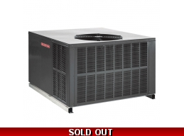 Goodman 4 Ton Package Unit Convertible Airflow Heat Pump Air Conditioner With Heat Strip Lift