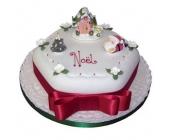 Santa's Christmas Cake ..