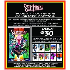 NYCC SENTINELS COLORIZED EDITION AND SKETCH SALE!