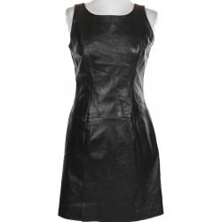 Black Leather Mini Dress