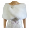 Bridal Fur Wrap
