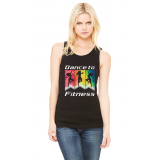 DANCE TO FITNESS LADIES TANK TOP