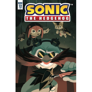 Idw Comics Sonic The Hedgehog Issue 12 1 10 Fourdraine Variant