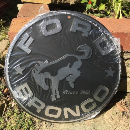 Ford Bronco Signs  Ford Bronco Sign  Garage Signs for Men  Garage Signs for him  Ford Auto Signs  Ford Gifts  Car Signs  Bronco Signs