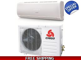 Chigo 18000 Btu 19 Seer Ductless Heat Pump Air C..