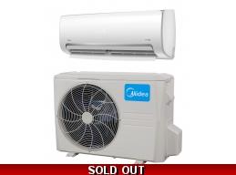 Midea 12000 Btu 110v 20 SEER Ductless Mini Split Hyper Heat Pump AC