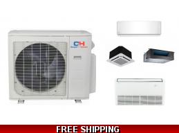 C&H Custom Multi 2-5 Zone Ductless Mini Split Heat Pump AC