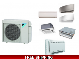 Daikin Custom Multi 2-5 Zone Mini Split Heat Pump Air Conditioner