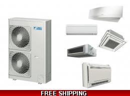 Daikin Custom Multi 2-8 Zone Mini Split Heat Pump Air Conditioner