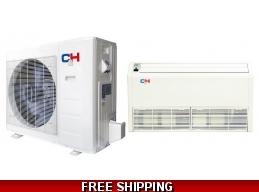 C&H 36000 Btu 16 SEER Commercial Grade Floor Ceiling Heat Pump AC