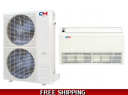C&H 48000 Btu 17.8 SEER Commercial Grade Floor Ceiling Heat Pump AC
