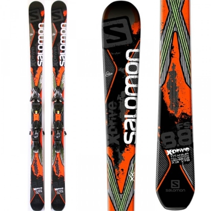 179cm 201516 Salomon X Drive 8.8 88 FS All Mtn Skis