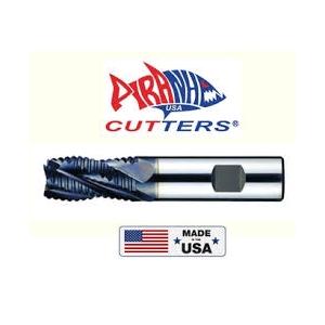 22 mm Head Diameter 75 mm Flute Length Cobalt High Speed Steel PM Dormer C49222.0 Shank Roughing End Mill ALCRONA Coating