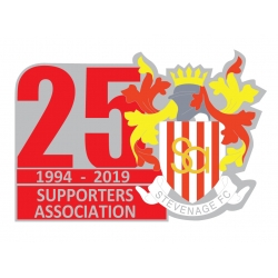 2019/20 25th Anniversary Badge