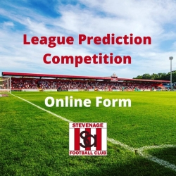 SA League Prediction Competition - Online Form