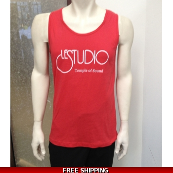 Le Studio Men Red Tank ..