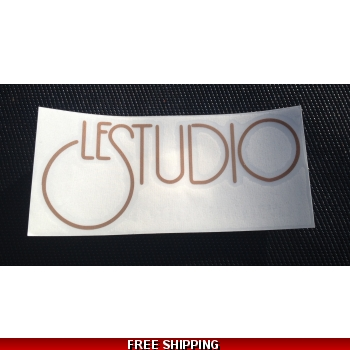 Le Studio Copper Decals..